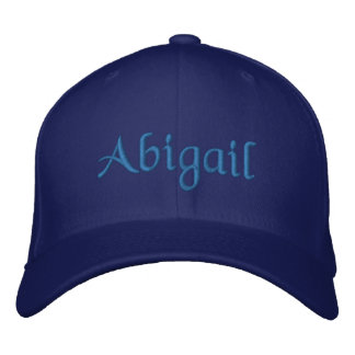 Abigail Personalized Embroidered Baseball Cap