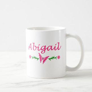 Abigail (Pink Butterfly) Coffee Mug