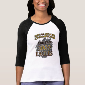 Abilene High School Eagles 2009 Texas Champions! T-Shirt