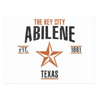 Abilene Postcard
