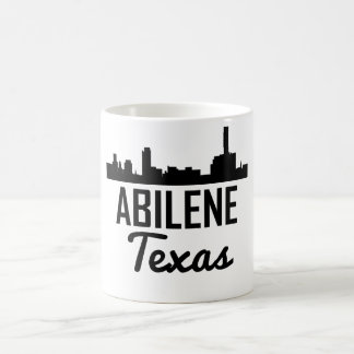 Abilene Texas Skyline Coffee Mug