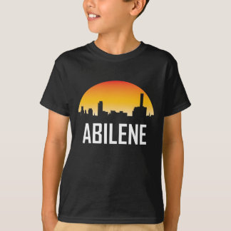 Abilene Texas Sunset Skyline T-Shirt