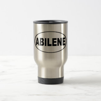 Abilene Texas Travel Mug