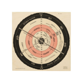 "Abizaid ""Flat Surface, Stationary Earth"" Wall Art Wood Prints"