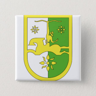 Abkhazia Coat of Arms detail 2 Inch Square Button