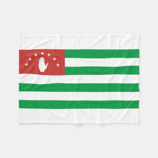 Abkhazia National World Flag Fleece Blanket