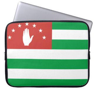 Abkhazia National World Flag Laptop Sleeve