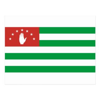 Abkhazia National World Flag Postcard