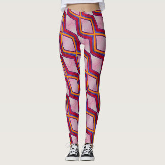 ABL - 082 - Red Shades - Leggings