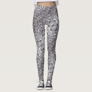 ABL - 096 - Leaves - Leggings