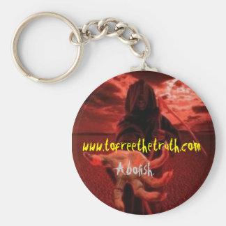 abolish2 keychain