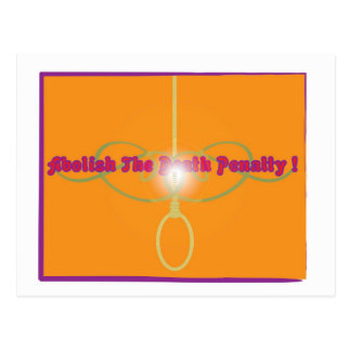 Abolish The Death Penalty! Postcard