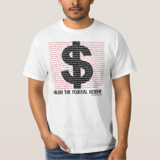 Abolish The Federal Reserve 2.0 T-Shirt