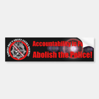 Abolish the Police Bumper Sticker