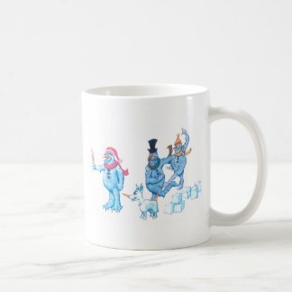 Abominable Snowmen and Dog Coffee Mug