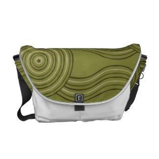 Aboriginal art bush courier bag
