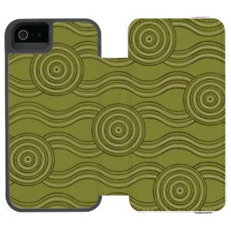 Aboriginal art bush incipio watson™ iPhone 5 wallet case