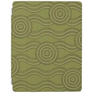 Aboriginal art bush iPad cover