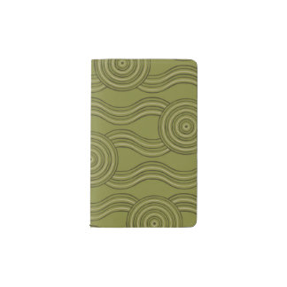 Aboriginal art bush pocket moleskine notebook