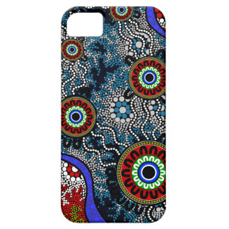 Aboriginal Art - Camping Case For The iPhone 5