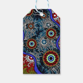 Aboriginal Art - Camping Gift Tags
