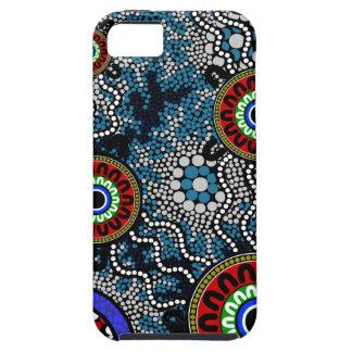 Aboriginal Art - Camping iPhone 5 Cases