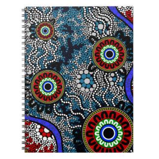 Aboriginal Art - Camping Notebook