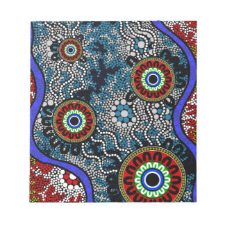Aboriginal Art - Camping Notepad