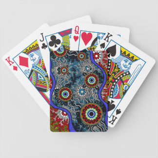 Aboriginal Art - Camping Poker Deck