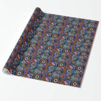 Aboriginal Art - Camping Wrapping Paper