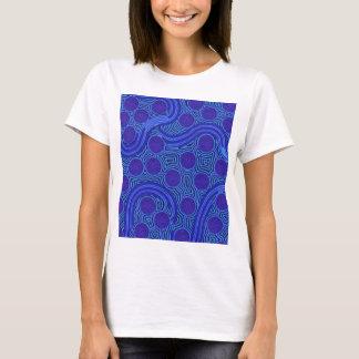 Aboriginal Art - Circles & Lines T-Shirt
