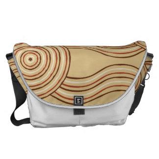 Aboriginal art earth courier bags