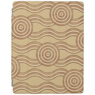 Aboriginal art earth iPad cover