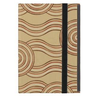 Aboriginal art earth iPad mini cover