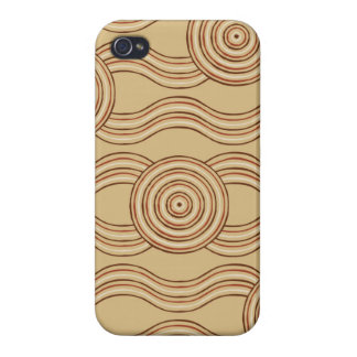 Aboriginal art earth iPhone 4/4S cover