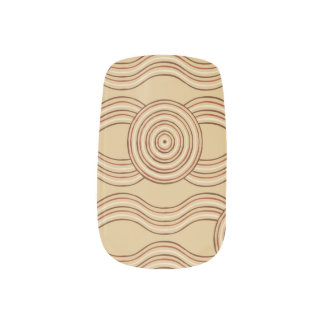 Aboriginal art earth minx nail art