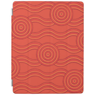 Aboriginal art fire iPad cover