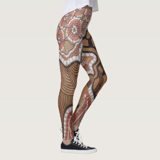 Aboriginal Art Gamilaroi Leggings