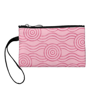 Aboriginal art gumnut blossoms coin purses