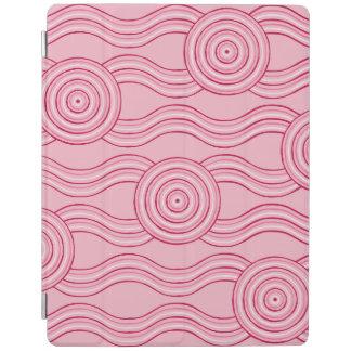Aboriginal art gumnut blossoms iPad cover