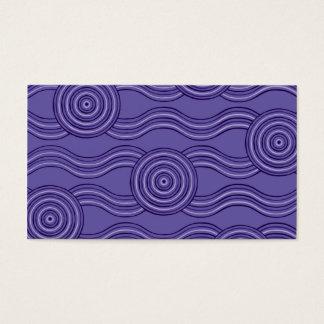 Aboriginal art melaleuca business card