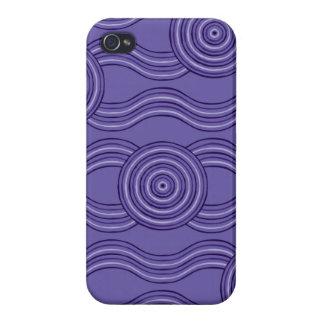 Aboriginal art melaleuca iPhone 4/4S covers