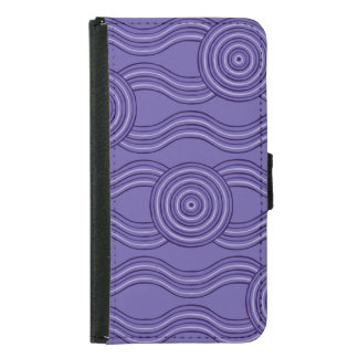 Aboriginal art melaleuca samsung galaxy s5 wallet case