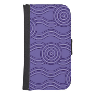 Aboriginal art melaleuca samsung s4 wallet case