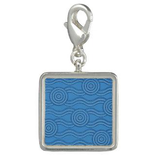 Aboriginal art ocean charm
