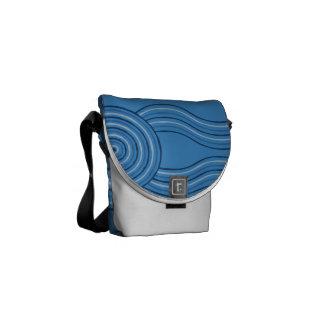 Aboriginal art ocean commuter bags