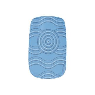 Aboriginal art ocean minx nail art