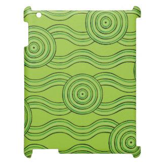 Aboriginal art rainforest case for the iPad