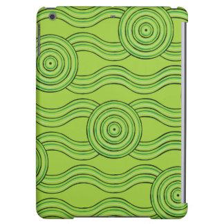 Aboriginal art rainforest iPad air cover