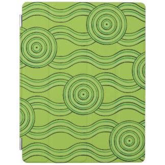 Aboriginal art rainforest iPad cover